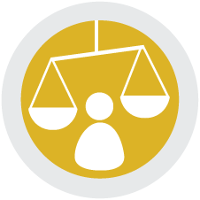 Ethics and Trust Icon